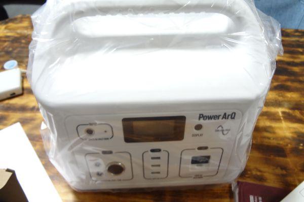 ポータブルバッテリー PowerArQ