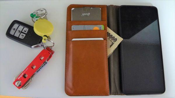 財布を持つのをやめました。