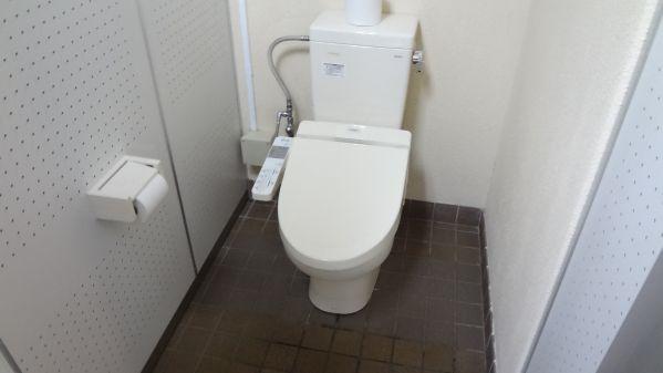 別海町ふれあいキャンプ広場 キャンプ場トイレ